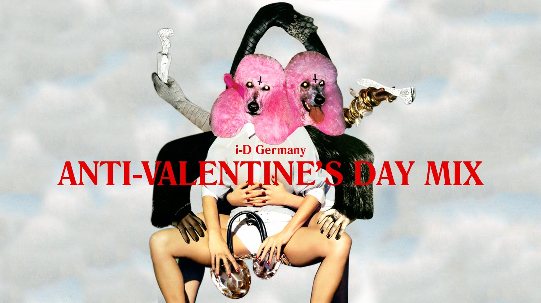 VALERIJA IĻČUKA Artwork for i-D Germany's Valentine's Day mixes